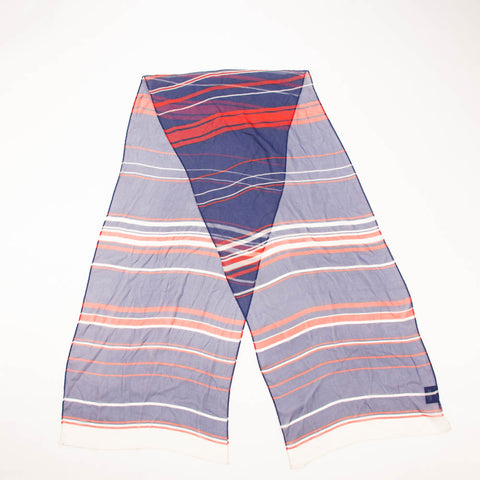 Cejon Long Striped Beautiful Scarf Vintage Accessory