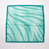 Blue Retro Waves Scarf Vintage Accessory