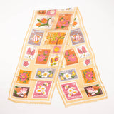 Summer Islands Stamps Printed Scarf Accessories