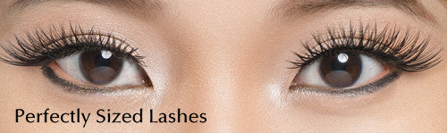 2 Steps to Trimming Your False Eyelashes | How to cut false eyelashes shorter