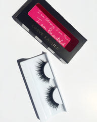 Use Crave Lashes to add glamour to your cut crease look