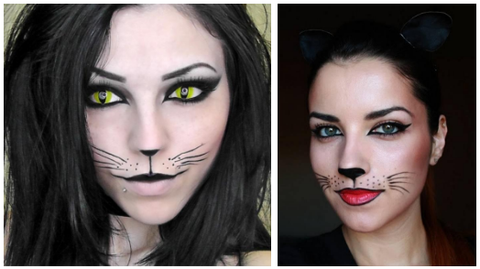 Black Cat makeup look