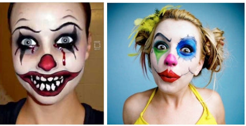 Clown Makeup Look