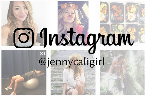 Follow me on Instagram - @jennycaligirl
