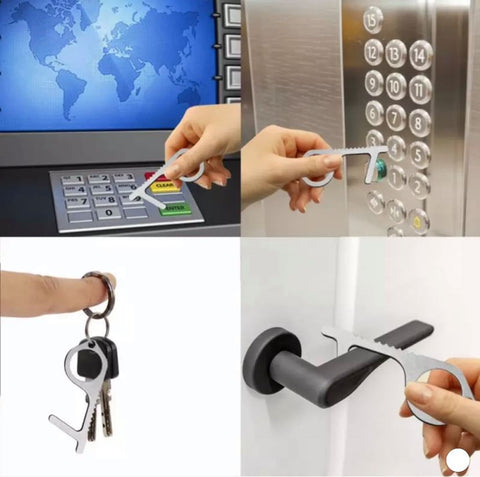 Touchless Tool Keychain and Door Opener