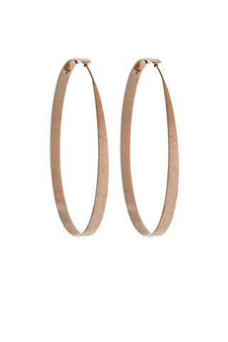 Rosegold Hoop Earrings Small
