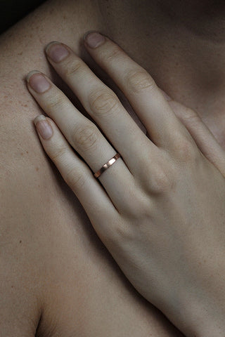 ROSEGOLD STACKING RING