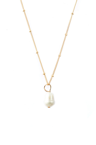 WHITE PEARL AMULET