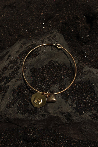 SAGITTARIUS HEART BANGLE