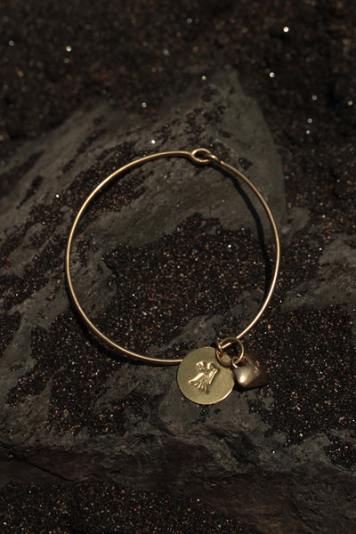 VIRGO HEART BANGLE