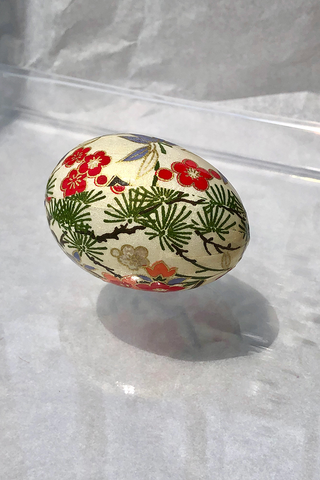 FEHMI JEWELLED EGG - JAPON
