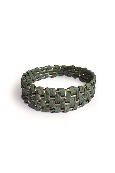 PALM BANGLE - GREEN