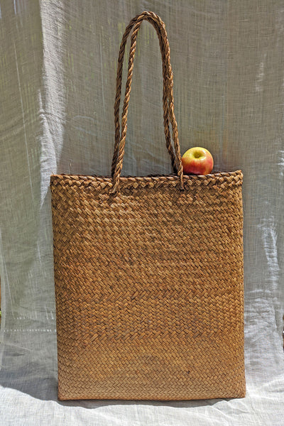 Ines Woven XL Tote Bag - Natural