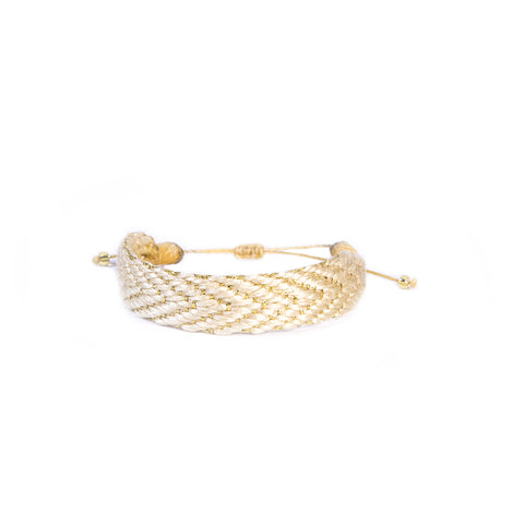 Gold Playa Bracelet - Wayuu Give Bracelets - 1