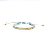 Minty Fresh Leather Stud Bracelet - Wayuu Give Bracelets - 1