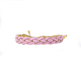 Pink Braided - Wayuu Give Bracelets - 2
