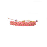 Salmon Braided - Wayuu Give Bracelets - 2