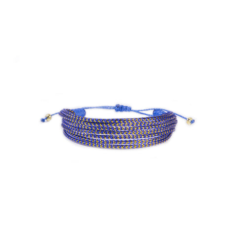 Ocean Blue Wave - Wayuu Give Bracelets - 1