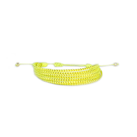 Yellow - Wayuu Give Bracelets - 1