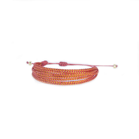 Red Wave Vakano Bracelet