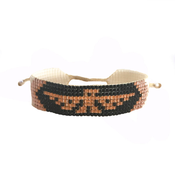 Handmade Vakano Live Free Beaded Bracelet from Colombia | Give back | Ethical | Provides jobs for artisans