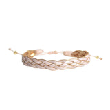 Nude Braided Bracelet