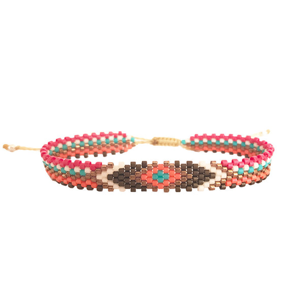 Summer Time Beaded Bracelet