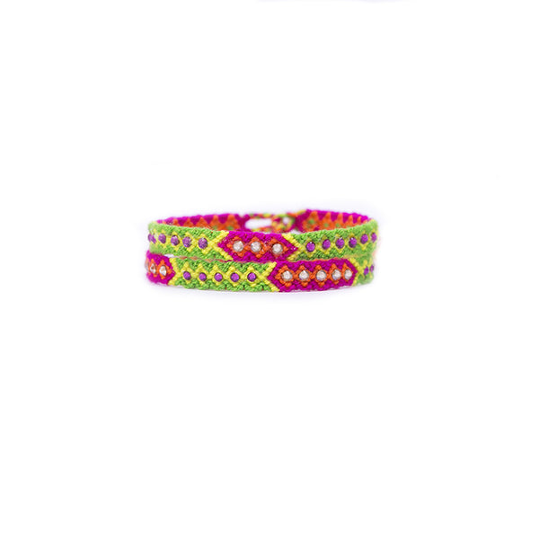 Sunrise - Wayuu Give Bracelets - 1