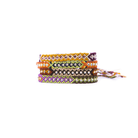 Fall Lovin' - Wayuu Give Bracelets - 1