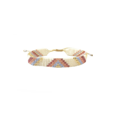 Sunset Beaded Bracelet