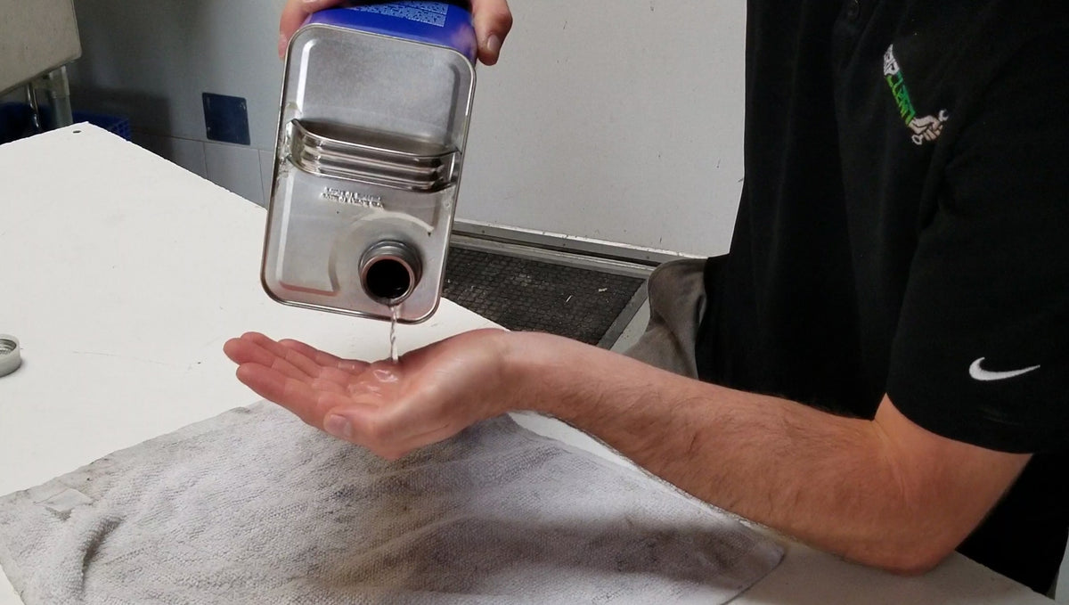 Best way to Clean /Remove Acetone from your hands!