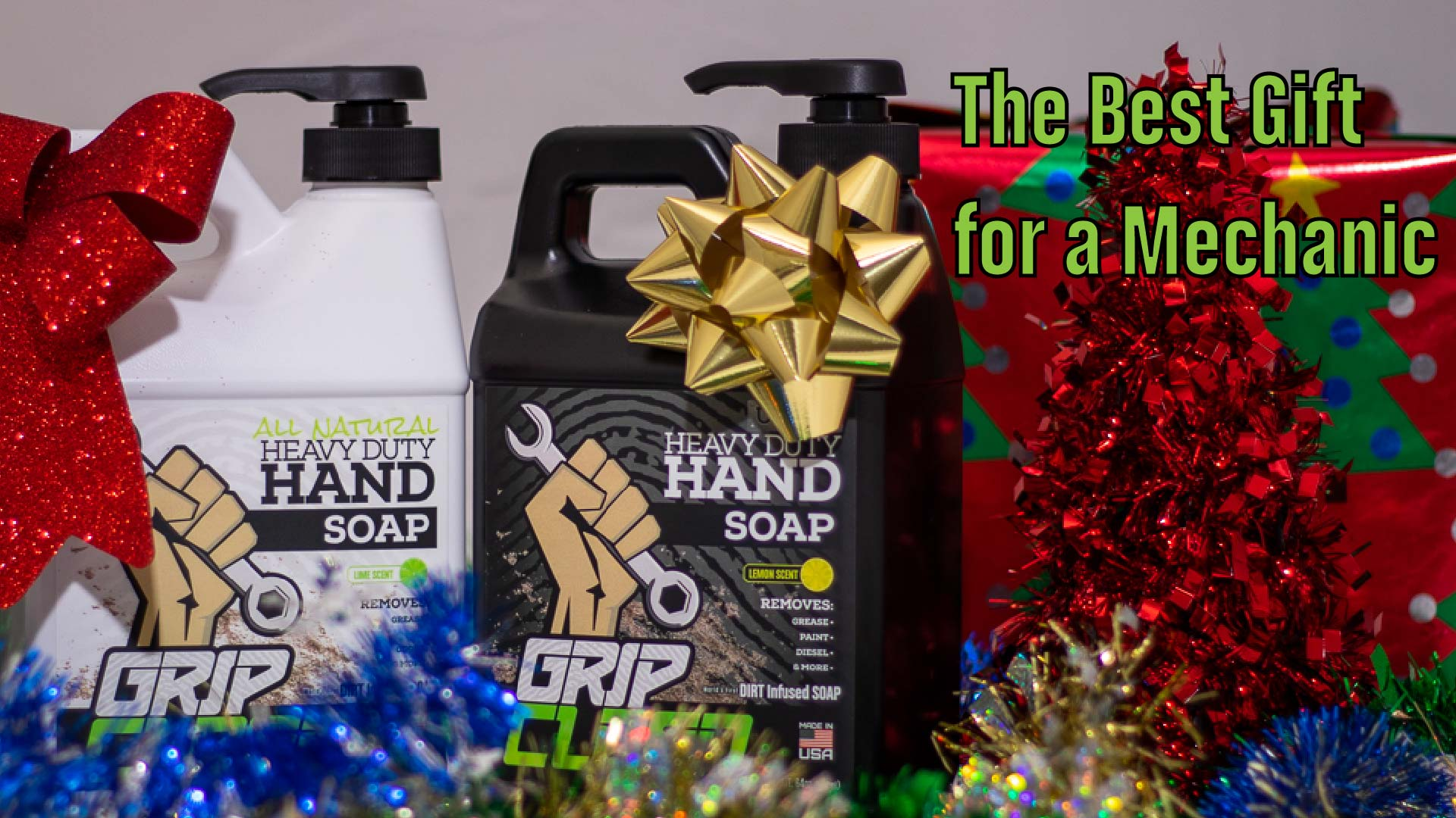 The Best Gift For a Mechanic - Natural Hand Cleaner | Grip Clean
