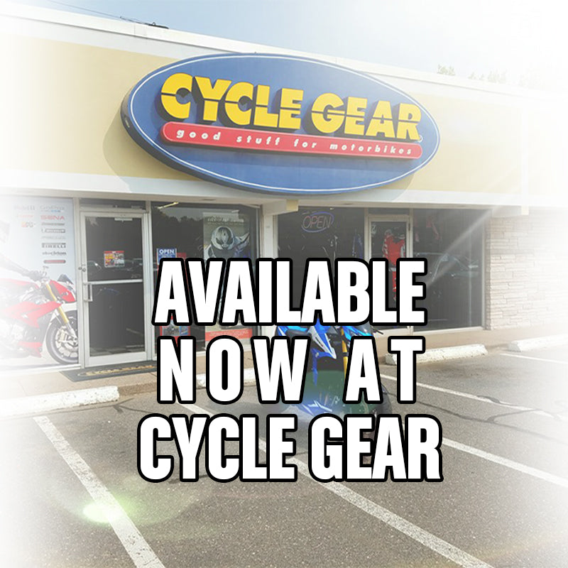 Now on Sale at CYCLE GEAR!
