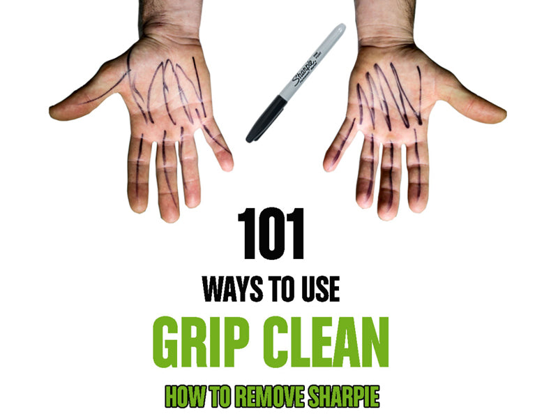 How to Remove Sharpie From Your Hands