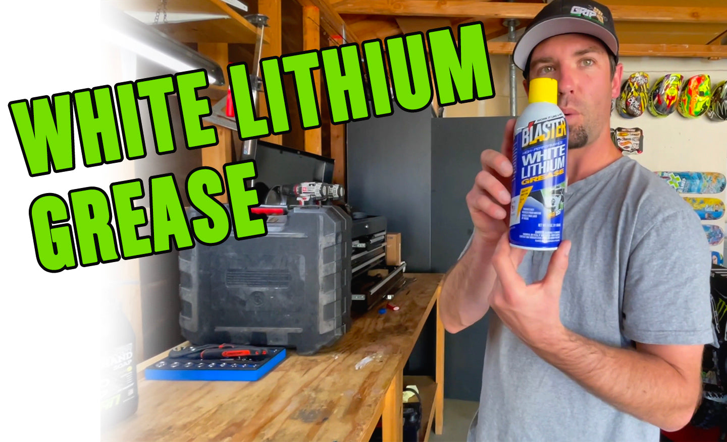 HOW TO REMOVE: White Lithium Grease