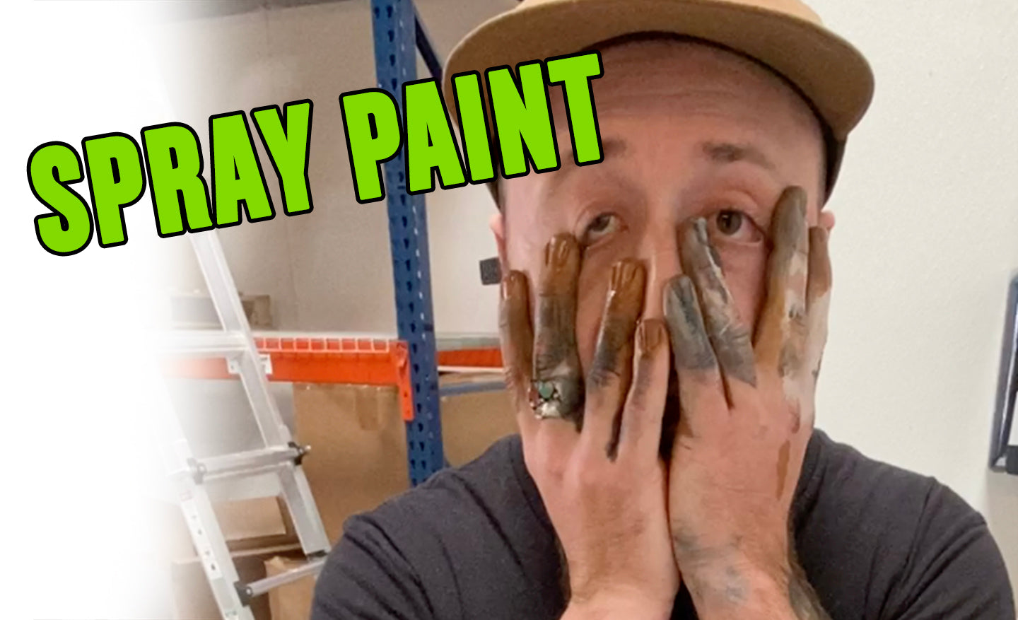 HOW TO REMOVE: SPRAY PAINT
