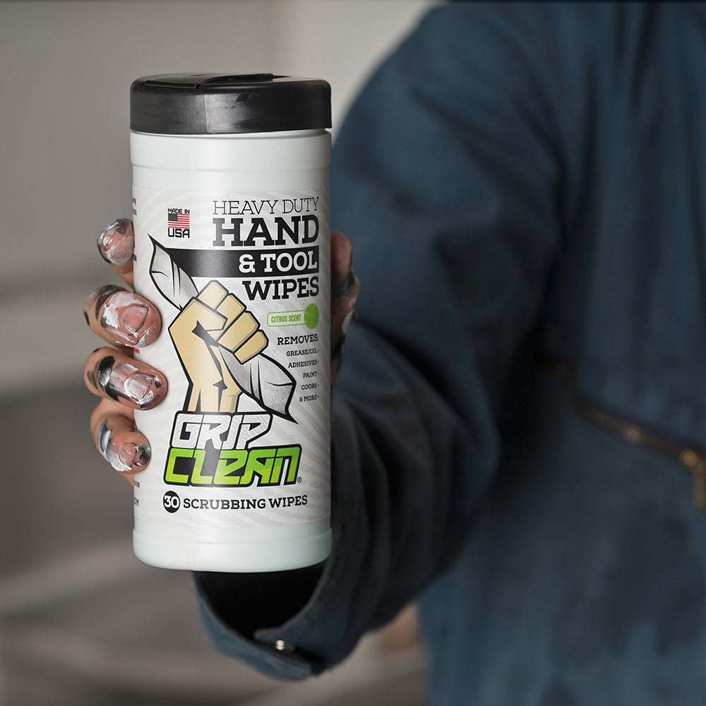 ABOUT THE FORMULA: Heavy Duty Hand & Tool Wipes
