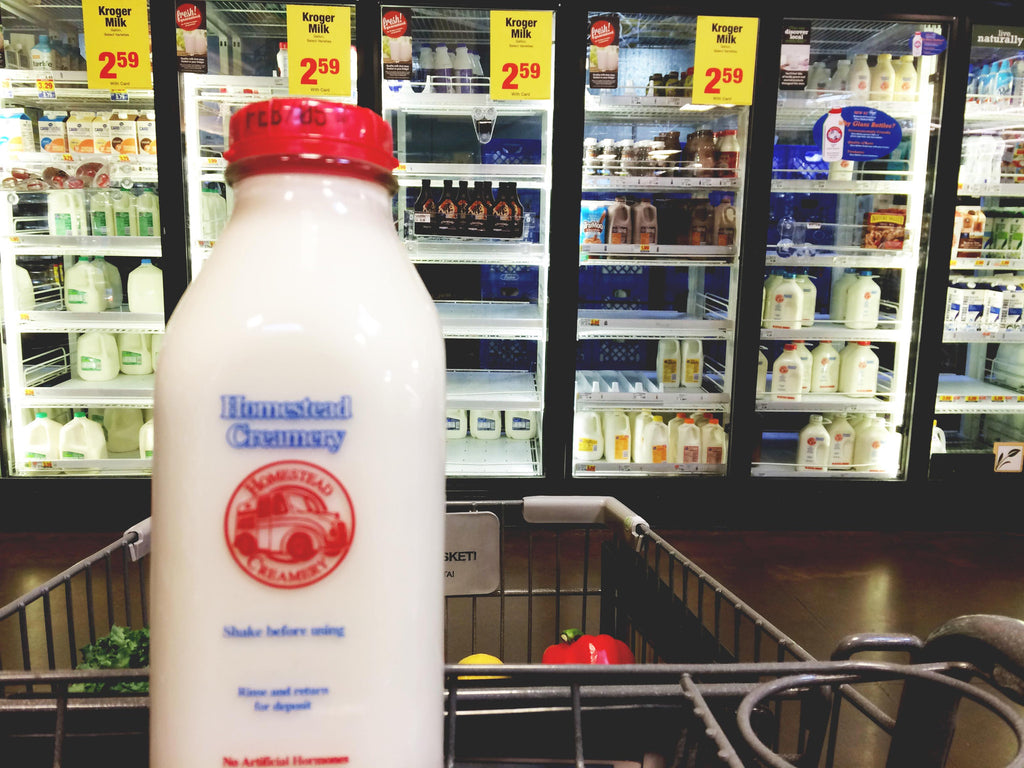 How to buy zero waste milk in Atlanta?