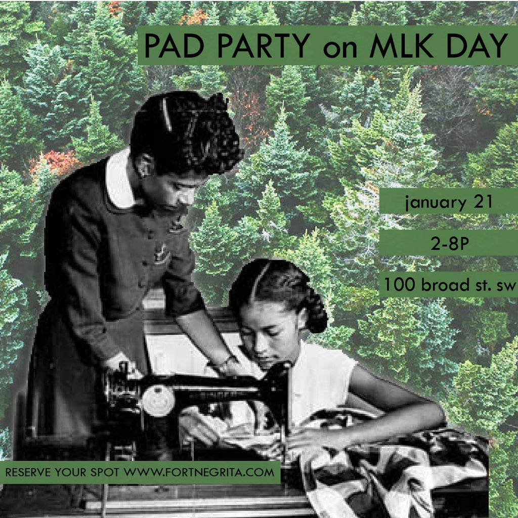 pad party on mlk day (jan 21)