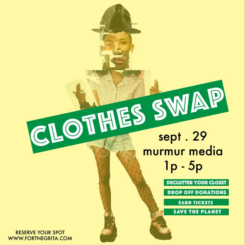 how to earn a ticket to afropunk, attend the clothes swap!
