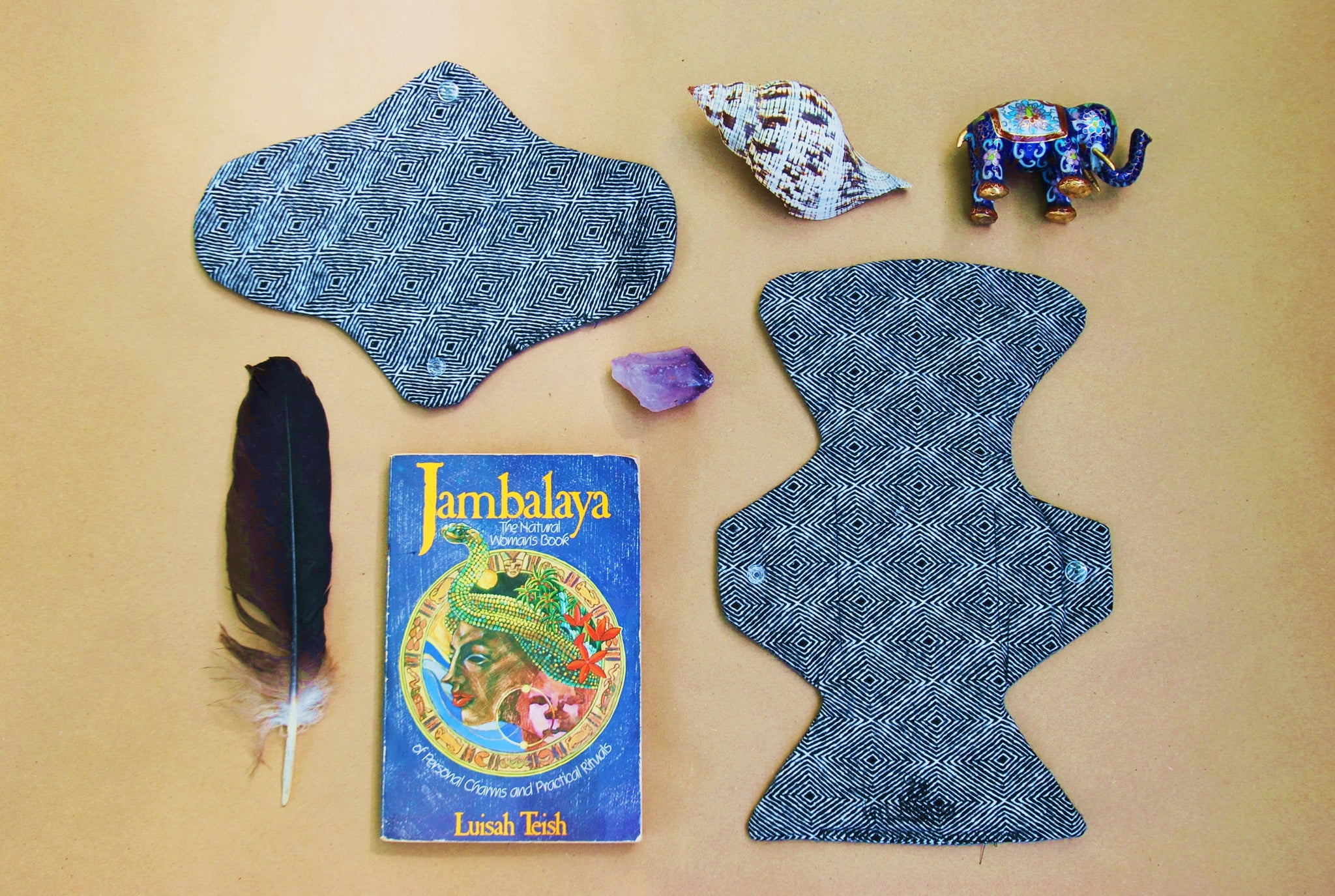Cotton-Flannel Reusable Menstrual Pad