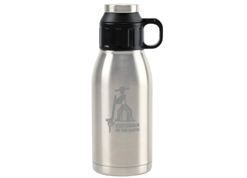 Stainless Steel Canteen with Lid Cup