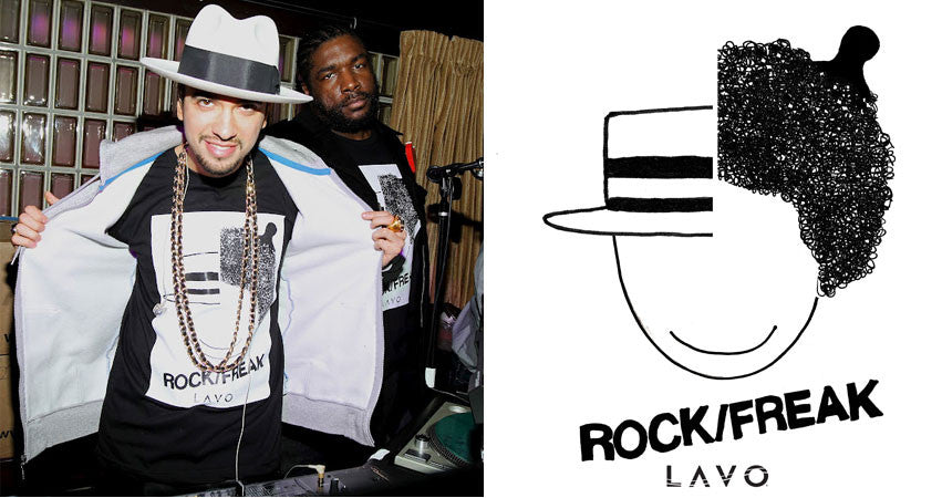 DJ Cassidy × Questlove Rock/Freak Tees, 2012