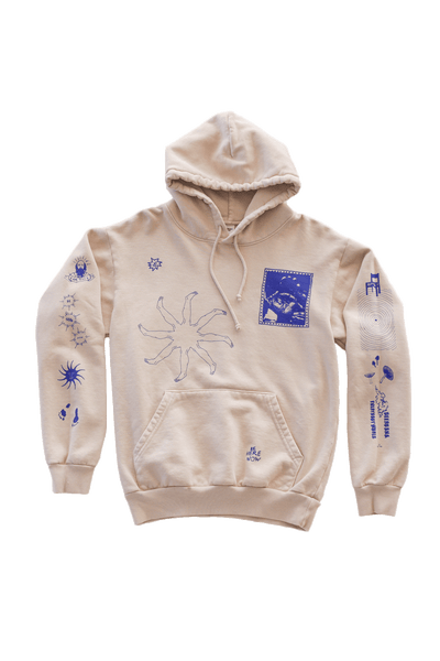 Be Here Now Hoodie (Cream)