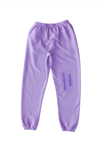Be Here Now - Lavender Sweatpants