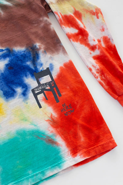 Be Here Now - Long Sleeve Tie Dye Tee