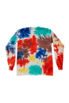 Be Here Now Long Sleeve Tee (Tie Dye)