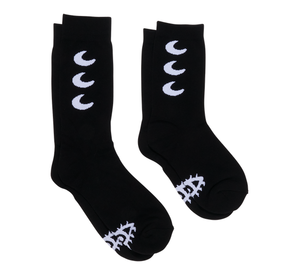 BLACK STARS & MOON SOCKS
