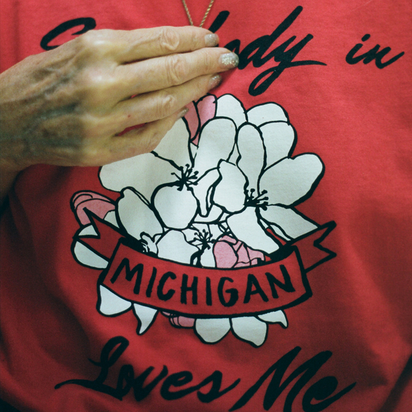 Somebody in Michigan Loves Me Tee (Red)