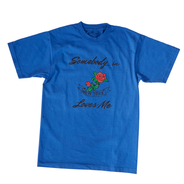 Somebody in New York Loves Me Tee (Blue)